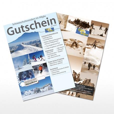 Schneeschuhwanderung Berghüttentour