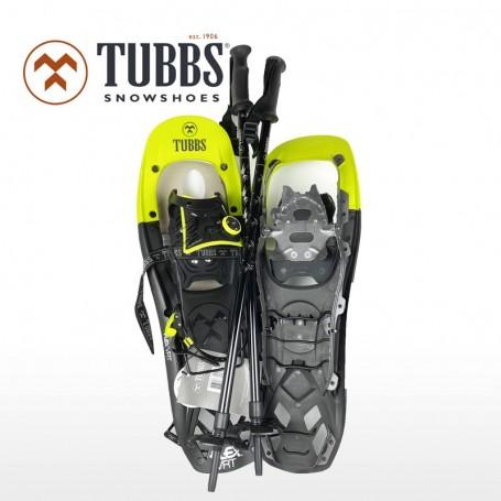 TUBBS Flex VRT 24 Schneeschuh Set mit Stöcken