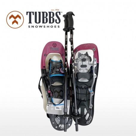 TUBBS Flex VRT 22 Schneeschuh Set mit Stöcken