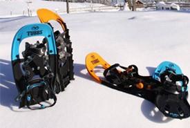 Testen Sie Ihre Schneeschuhe bevor Sie sie kaufen!